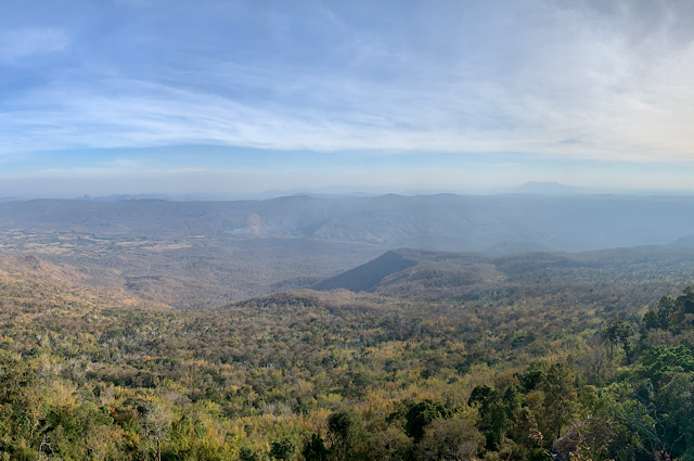Stunning view from Phu Kradeung
